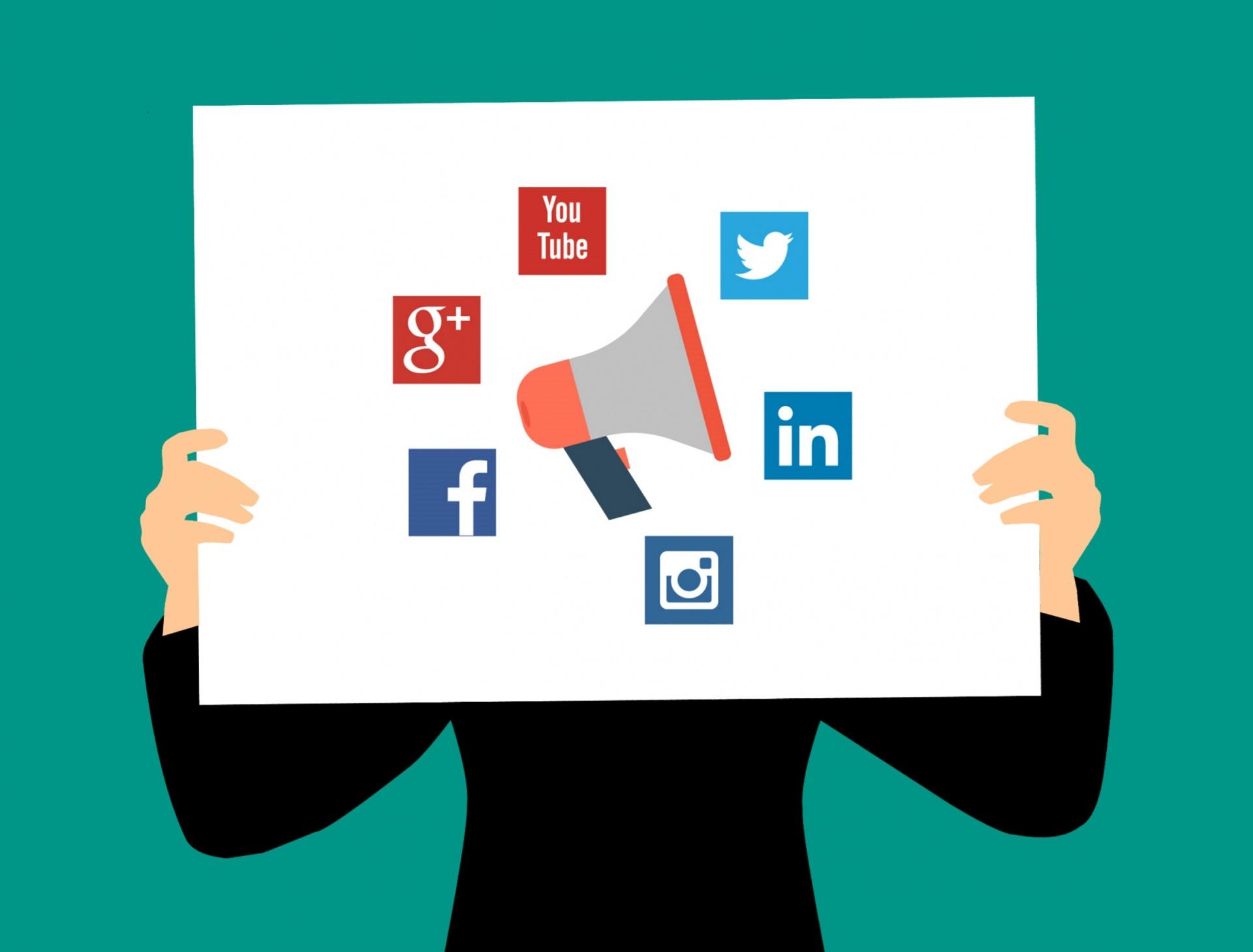 Bedrijven op social media
