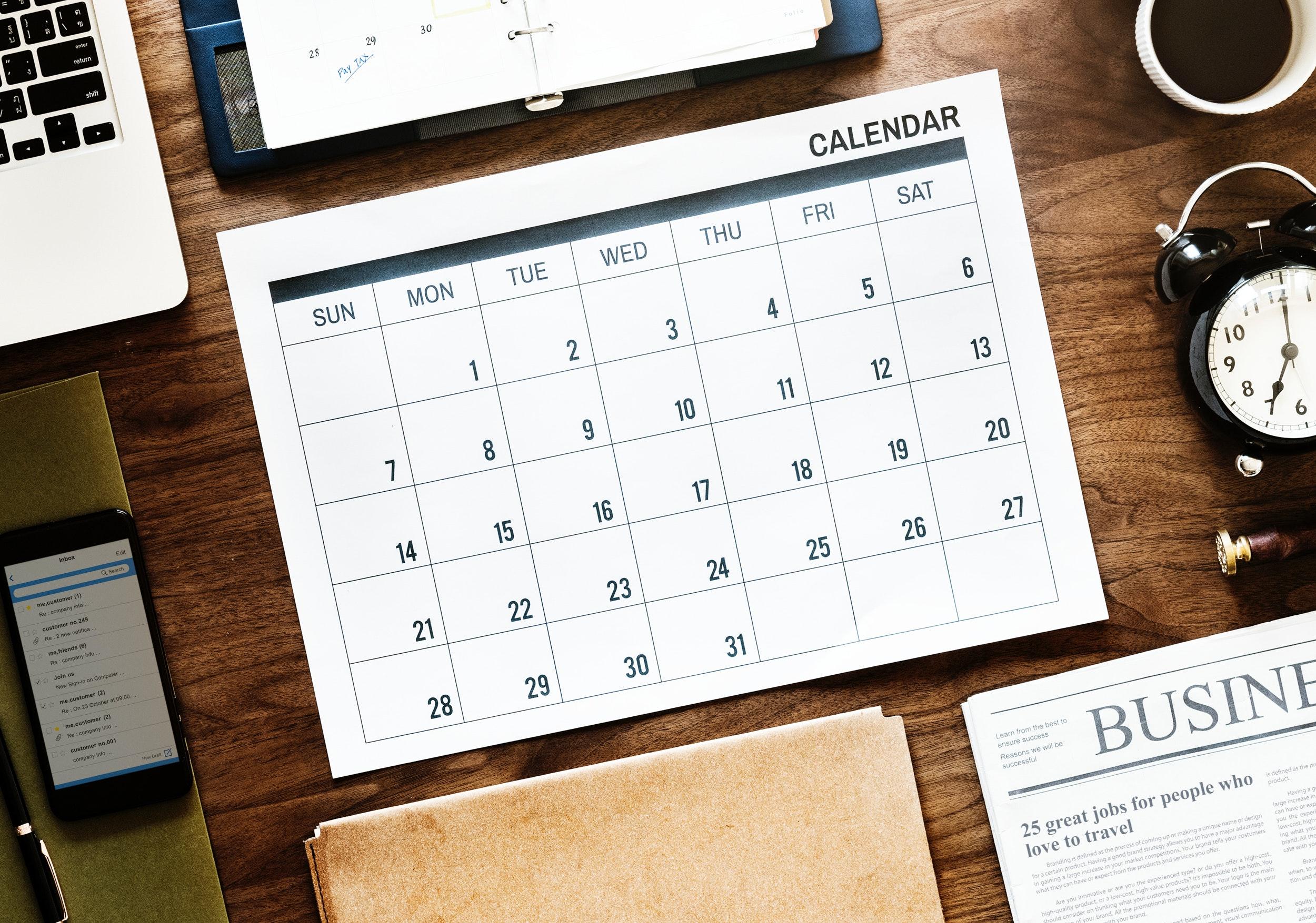social media contentkalender